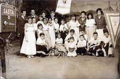 SAETA TV, Canal 10, Montevideo, década del 60.