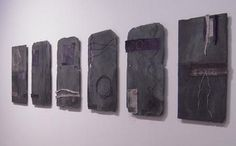 """notes on slate"" by Gizella K Warburton"