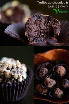 Truffes au chocolat et lait de coco | Cuisine en Scène, le blog cuisine de Lucie Barthélémy - CotéMaison.fr