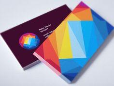 Sunset Mountain Business Card / Logo Design by Utopia Branding: