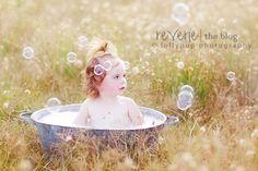 banho, bolinha de sabão