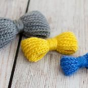 Bow-licious Crocheted Bow Pattern Pack - via @Craftsy