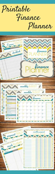 I love the design of this chevron finance planner and budgeting printable!  I am much more likely to use something if it is pretty! #ad #budget #budgeting #debt #debtfree #finance #financial #chevron #printable #money #moneytips #planner #planning #planneraddict #plannerlove #plannercommunity #plannergirl #instantdownload #digital #download