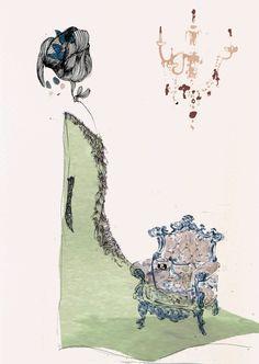 "Maud & Minet ""Diary of an eerie icon""  www.maudandminet.com"