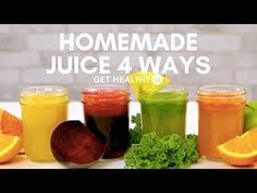 Juicing 101 | Recipes and Tips For Beginners - Get Healthy U