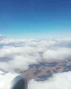 Volaste lejos de mí y te extraño.   #clouds #sky #fly #argentina #paradise #travel by je.suis.panda