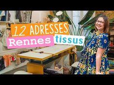 12 adresses pour acheter du tissu et mercerie à Rennes - vlog couture - YouTube