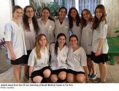 US Jewish teens brave rockets to lend a hand at Israeli rehab hospital | JPost | Israel News