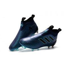 new style 44b6f dcd11 Adidas ACE 17+ PureControl FG Negle fodboldstøvler Fodboldstøvler, Fodbold