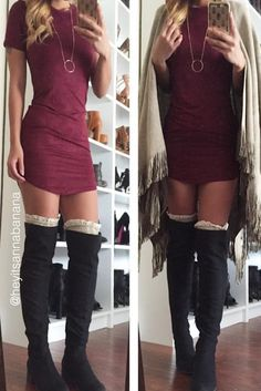 So Suede T-Shirt Tunic Dress (more colors) – Colors of Aurora
