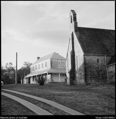 Church and rectory, Pitt Town