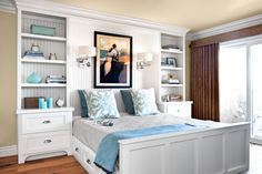 Photo: Mark Lohman | thisoldhouse.com | from A Guest Bedroom Goes From Catchall to Orderly Retreat