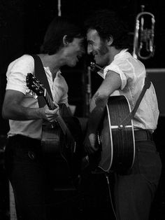 Bruce Springsteen and Jackson Browne