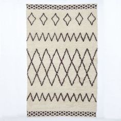 Kasbah Wool Rug - Ivory | west elm