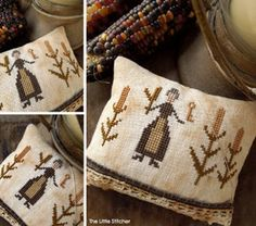 The Little Stitcher | Mother of the Harvest | FREE cross stitch chart to download
