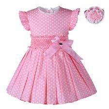 Diy Crafts - Fashion-Find great deals for Girl Kids Polka Dot Dress and Headband Set Pleated Summer Princess Party Wedding. Shop with confidence on eB Frocks For Girls, Dresses Kids Girl, Kids Outfits, Toddler Dress, Baby Dress, Little Girl Fashion, Kids Fashion, Fashion Outfits, Girl Dress Patterns