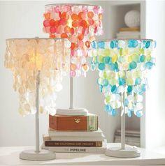 Capiz Lamps