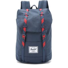 18c68c7d2a7 Herschel Supply Co. Retreat Backpack ( 81) ❤ liked on Polyvore featuring  bags