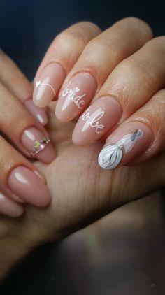 Nail Art, Bride, Nails, Beauty, Wedding Bride, Finger Nails, Bridal, Ongles, Nail Arts