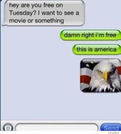 funny america | Funny Text Messages - This is America - Funny Pictures, Jokes, Quotes ...