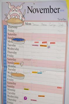 Metro Detroit Mommy: Mom's Family Calendar