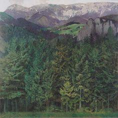 Koloman Moser (Austrian 1868 – 1918) - Blick auf die Rax