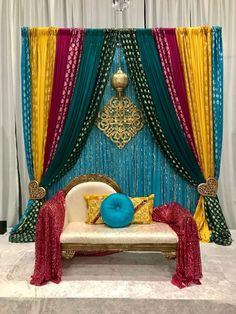 Desi Wedding Decor, Diy Wedding Backdrop, Wedding Stage Decorations, Backdrop Decorations, Wedding Mandap, Wedding Receptions, Wedding Ceremony, Backdrops, Wedding Ideas