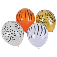 11-inch Qualatex Safari Balloons at theBIGzoo.com, a toy store that has shipped over 1.2 million items.