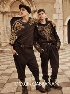 Mariano Vivanco Captures Sicilian Snapshots for Dolce & Gabbanas Fall/Winter 2012 Menswear Campaign
