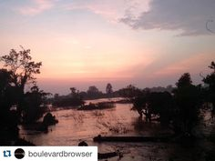 #Repost @boulevardbrowser with @repostapp. To get featured tag your posts with #talestreet  #Sunset at #dondet amazed at the beauty of #sunsets in this part of the world!  #Orange / #pink / #purple all colours exists in #sunset! #Laos #mekongriver #mekong #4000islands #river #nature #traveller #travel #beautifulasia #asia #backpacking #backpacker #scenic #nofilter #noediting #wanderlust #wanderer #travelgram #traveler #instagram #instalike
