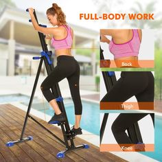 Fashine Vertical Climber 2 In 1 Folding Climbing Exercise Machine Total Body Workout Steper Fitness Stair Cardio 350 lbs Capacity *** You can obtain extra information at the image link. (This is an affiliate link). Stepper, Lose 50 Pounds, 10 Pounds, Cardio Equipment, Workout Machines, Exercise Machine, Stay In Shape, Hiit, Workout Kettlebell