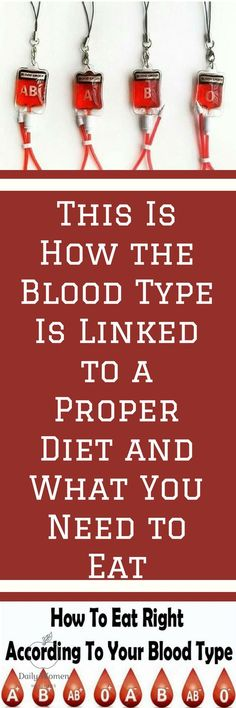"""A special dietary regime based on the blood type of an individual is called blood type diet. Unlike most of the modern diet which give only temporary results, this regime will give you positive results very soon, that will last longer. In 1996, a new diet was created and presented in the book """"Eat right…"""