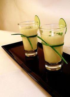 La Morena en la cocina ¡¡Que follón!!: Vichyssoise de pera