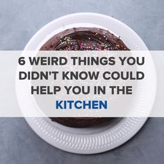 6 Weird Things You Didn't Know Could Help You In The Kitchen // #hacks #kitchenhacks