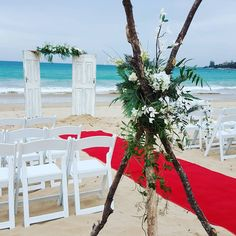 #weddingdoors on the #beach in #Lorne this afternoon. by ceremoniesido http://ift.tt/1IIGiLS