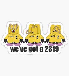 We've got a 2319 Sticker