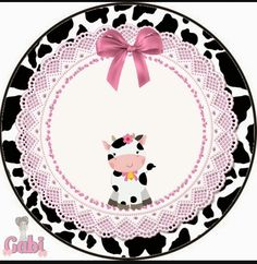Cartoon Cow, Cowgirl Party, Western Parties, Paper Crafts, Diy Crafts, Paper Toys, Farm Birthday, Farm Party, Farm Theme