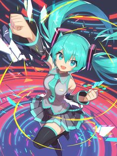 I don't know why but this picture of Miku makes me happy so I'm putting it on this board.
