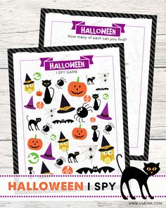 FREE Halloween I Spy
