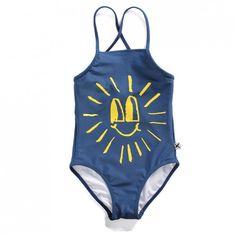 Minti Swimsuit Happy Sun - Midnight