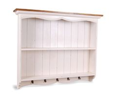 French Painted Large Wall Rack