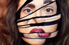 TUTORIAL ON MY YOUTUBE CHANNEL🎨LINK IN THE BIO 🎨 #makeup #MUA #cliomakeup_official  #halloween #motd #bblogger #makeupartist  #illusion  #fashionblogger #facepaint  #maya_mia_y #beautyblogger #instalike #bbloggers #instafollow #instagood  #art #bodypaint #bodyart #amazing  #makeup  #beauty #mehronmakeup #makeupoftheday #vegas_nay  #jordanhanz #sliced #makeupforever #mehron @vegas_nay  @mehronmakeup @mehronuk @cosmobeauty_it @cosmopolitan_it @makeupforeverofficial
