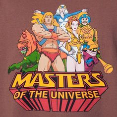Greyskull Crew Masters of the Universe T-Shirt: He-Man, She-Ra Shirts