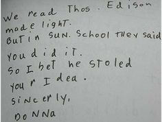 """""""Dear God"""" : Funny Letters from Kids to the Almighty - Beliefnet.com"""