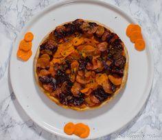 Tarte tatin à la carotte - Battle food #45 - Les recettes de Mélanie