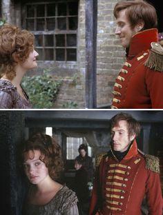 Vanity Fair (2004) Starring: Romola Garai as Amelia Sedley, Deborah and Rhys Ifans as Major William Dobbin.