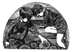 By: Andy English, wood engraving