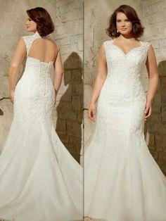 Plus Size Wedding Gowns, Bridal Wedding Dresses, Dream Wedding Dresses, Wedding Bride, Curvy Bride, Party Wear Dresses, Mermaid Dresses, Marie, Weddings