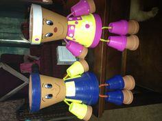 sandylandya@outlook.es  Clay pots I made for my cousin
