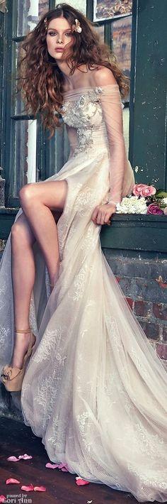 Glamorous Bohemian Chic / karen cox. Galia Lahav Bridal - Les Reves Bohemians Collection